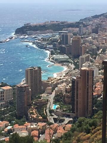 Chambre Priv. Proche Mer/Monaco - Roquebrune-Cap-Martin - Wohnung