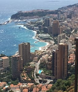 Chambre Priv. Proche Mer/Monaco - Roquebrune-Cap-Martin - Lägenhet