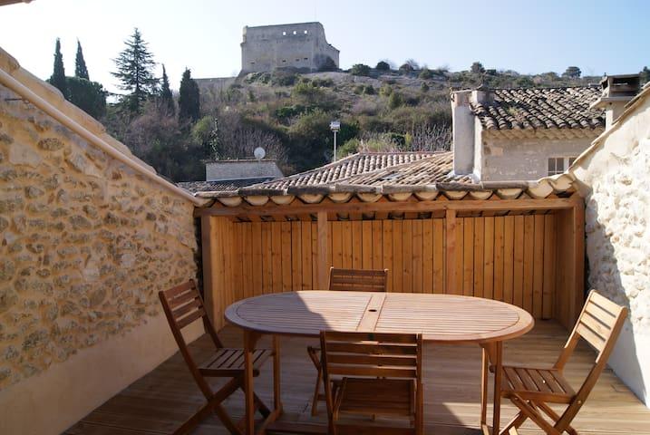 Appartement et terrasse - Vaison-la-Romaine - Leilighet