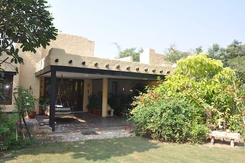 2 Bedroom Private Villa spread over 2 acre lawns