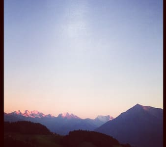 Sommerfrische oder Weihnachten im Berner Oberland - Wohnung