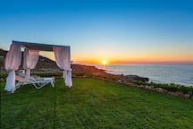 Watch the sunset and enjoy the sea views!