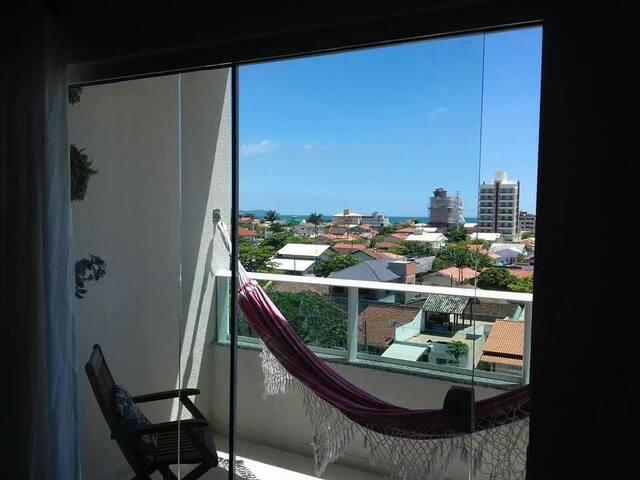 Apartamento com vista para Praia do Pereque