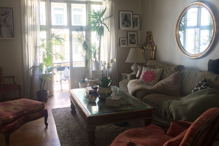 Beautiful French charming little apartment in Oslo