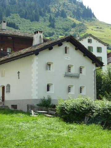 3-Zimmerwohnung 4P im Wisshus - Vals