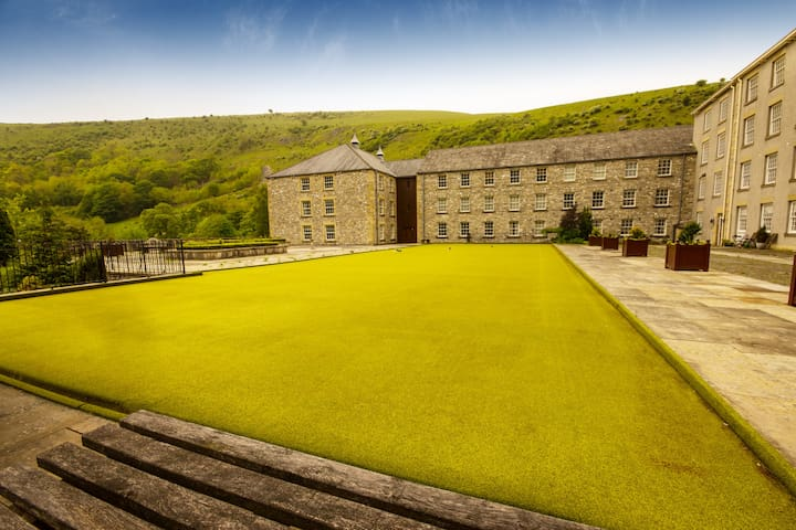 The Mill, Cressbrook, Monsal Dale - Cressbrook - Flat