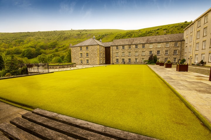 The Mill, Cressbrook, Monsal Dale
