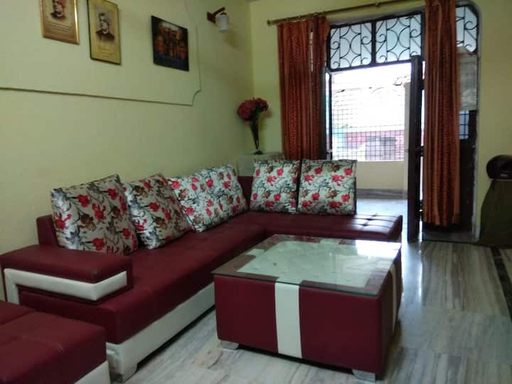 AC room (west) @2nd floor with Pvt balcony