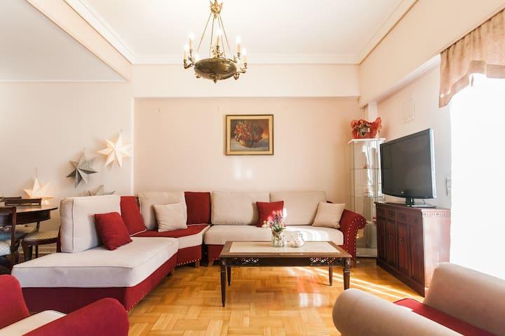 Live in a unique Athenian Condo in city center!