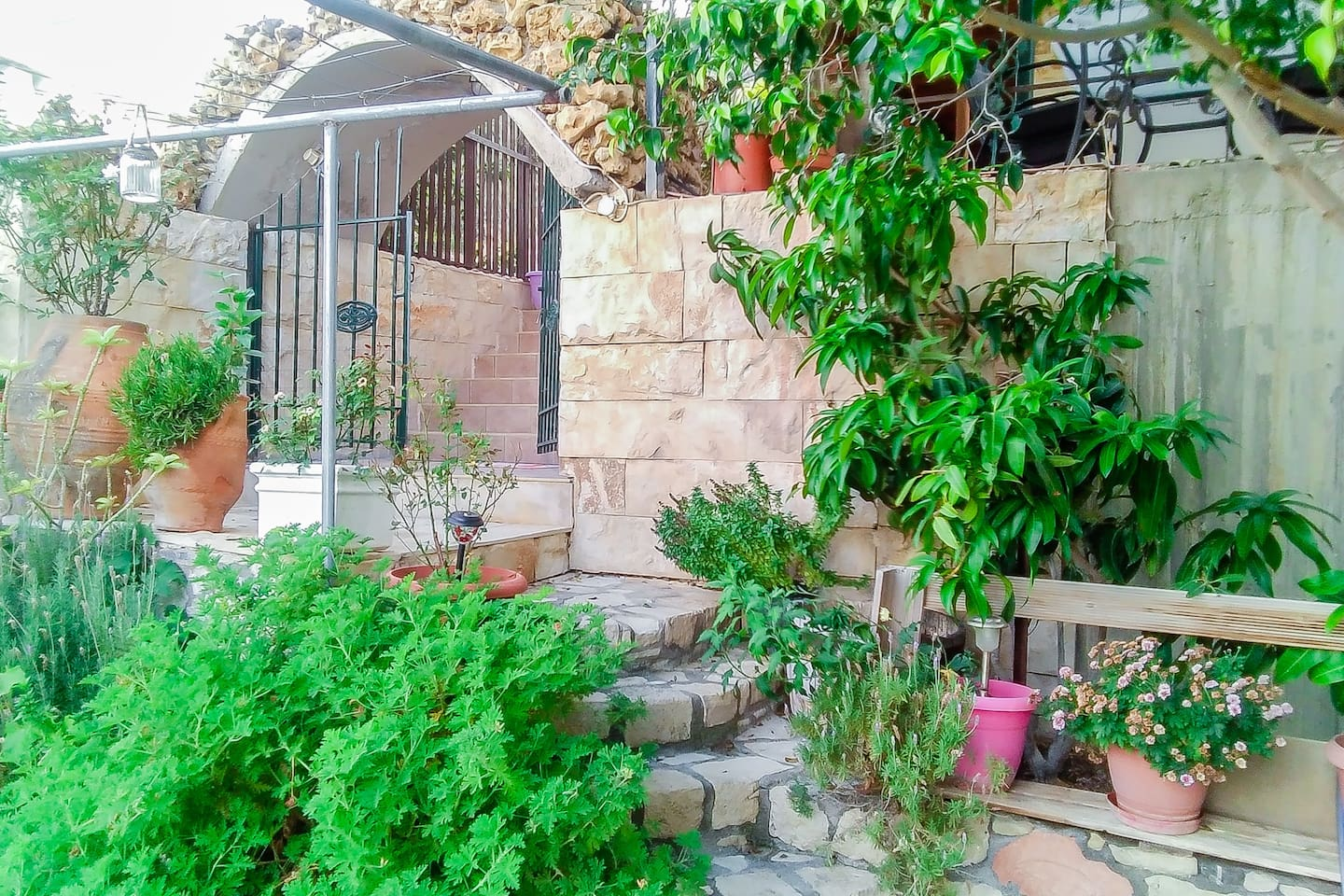 Garden Outdoor - Fully Furnished Seview House in Keratokampos Crete