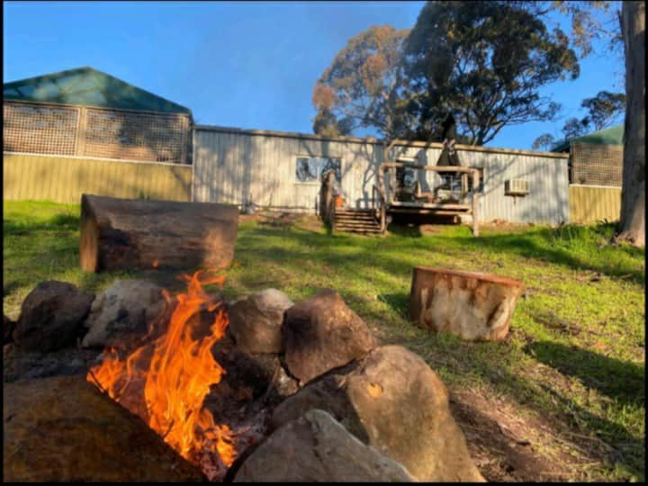 The Old Chook Shed Glamping in the Adelaide Hills