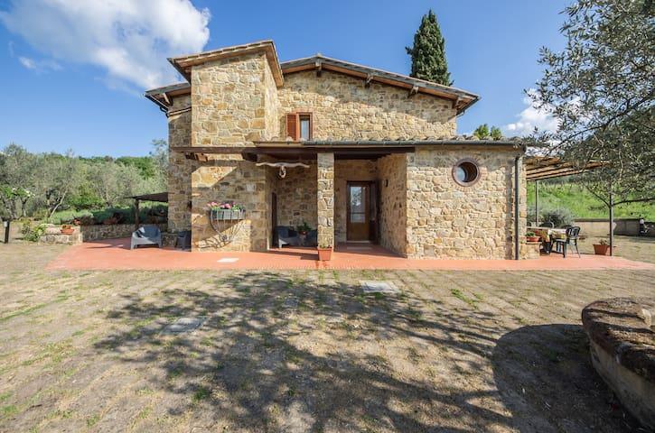 """""""IL GUGNOLO""""  Casale in Val d'Orcia - Castiglione d'Orcia - House"""