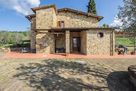 """""""IL GUGNOLO""""  Casale in Val d'Orcia - Castiglione d'Orcia"""