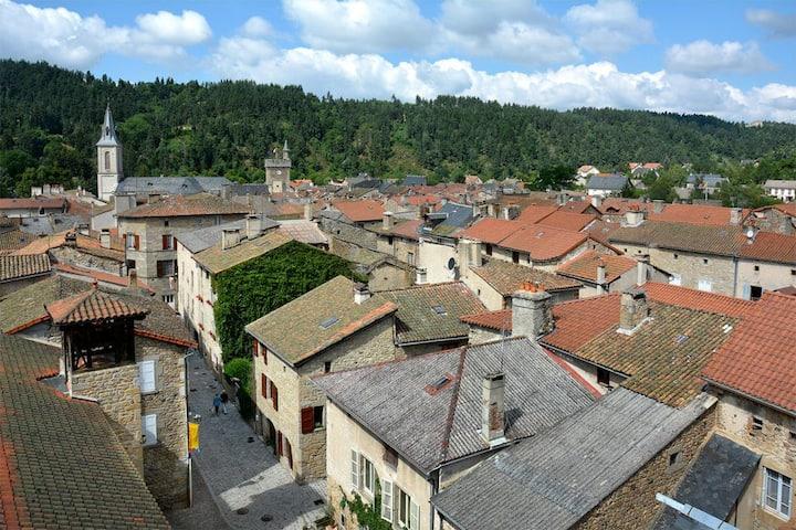 A la Bergerie, au coeur d'un village médiéval !