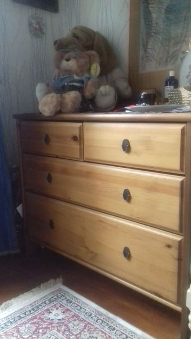 Chest of drawers for your things