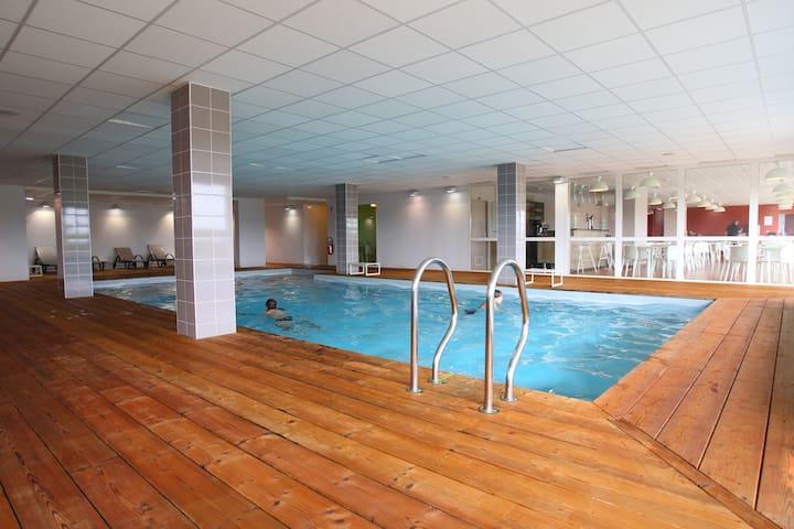Appartement moderne au calme avec accès au sauna ! Vue du Polder