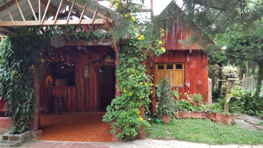 hermosa cabaña en Los Naranjos - Los Naranjos - House