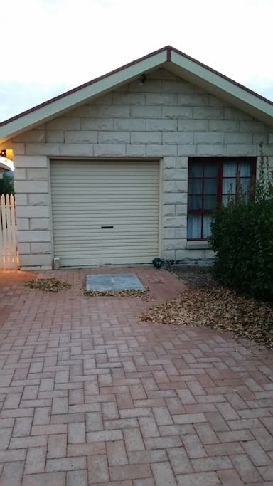 Free standing cottage with private entrance and off street parking