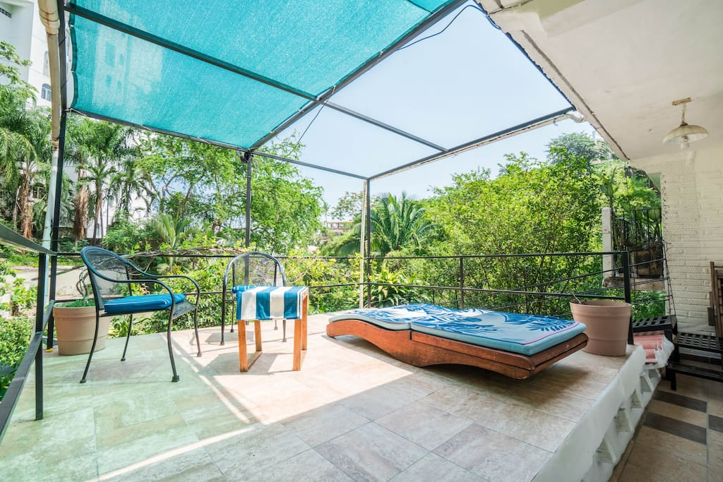 Your own private patio