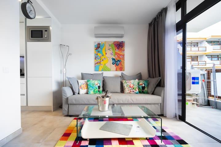Aoartament Polaris Modern, renovated, WiFi,central
