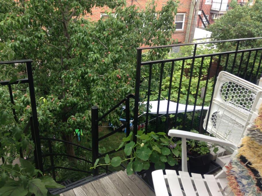 Un deuxième balcon accessible