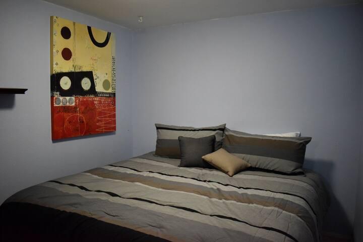 Bedroom in safe neighborhood!