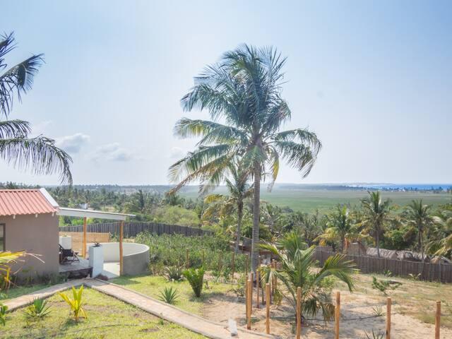 Narinho overlooking Tofo Bay and Lagoon