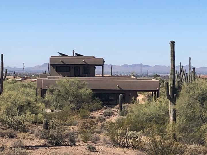 Welcome to Saguaro House, welcome winter visitors