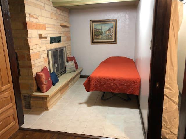 Bedroom 1 - twin bed shown.
