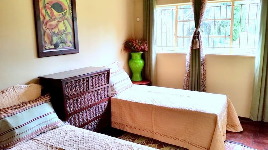 Muhacha Twin Suite@MushaindoroZIM - Harare - Bed & Breakfast