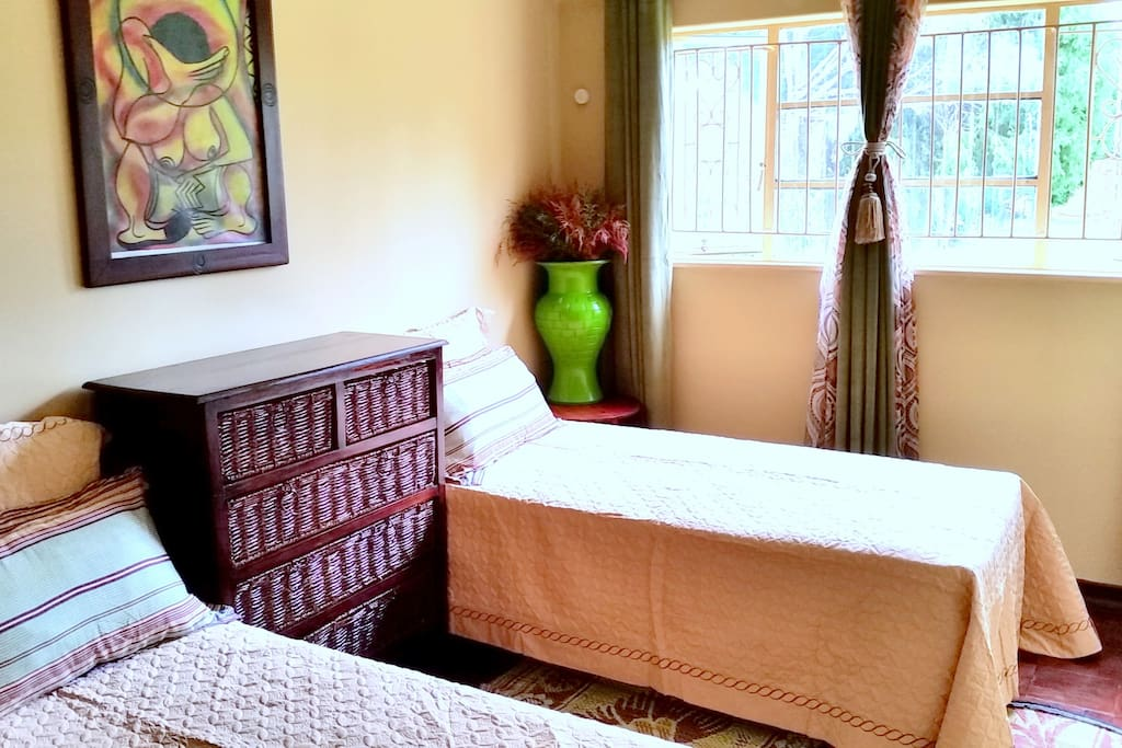 Muhacha twin suite mushaindorozim bed and breakfasts for for Beds zimbabwe
