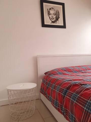 Cosy room in nice indsutrial flat. ( Edmonton )