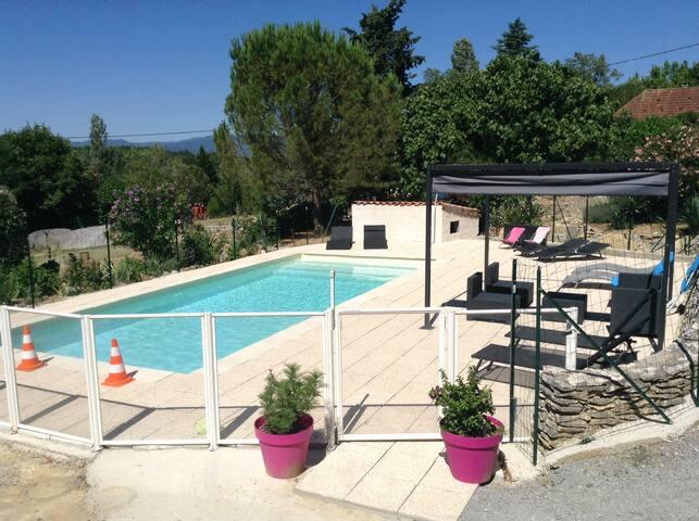 Maison du bonheur - Grospierres - Talo