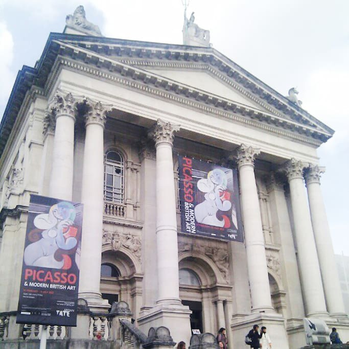 Gambar Tate Britain di Millbank