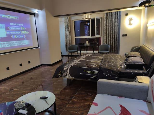 【TikHouse】万达SOHO公寓|坚果投影|万达大商业一号门楼上|位置极佳|万达,唐道,新华联等