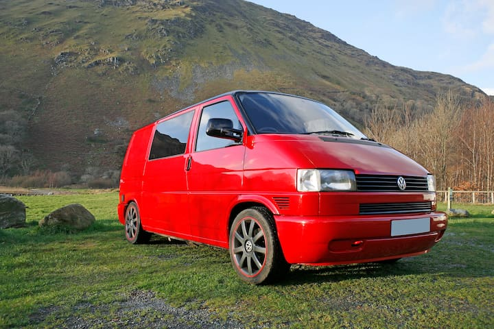 !NEW! VW T4 Camper Van for Adventuring!! - Beddgelert