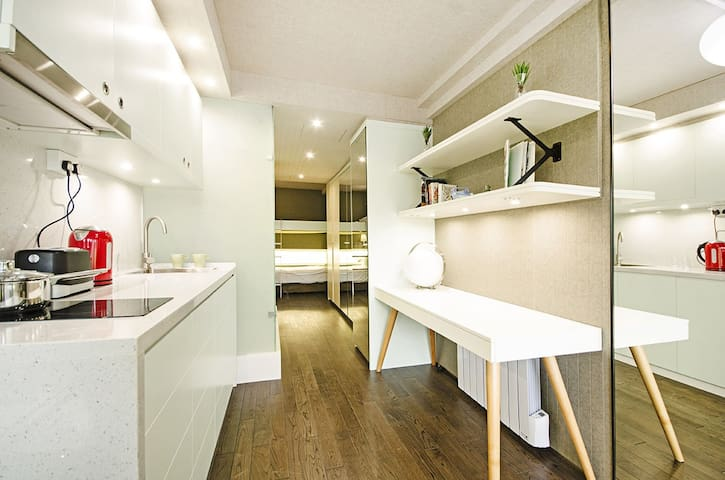 A modern flat in a student halls. - Edgware - Apartment
