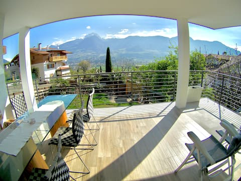 Apartment in 'Hoch Marling' with amazing view