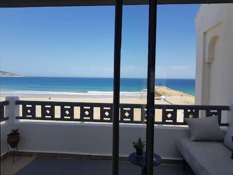 Stunning Seaview 2 bedrooms,  Malabata, Tangier