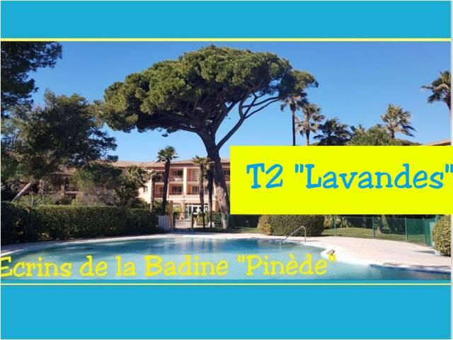 T2  Lavandes 5pers -Ecrins delaBadine-direct plage