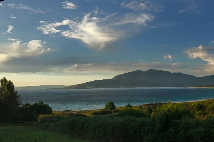Piso 4 hab. con vistas a la playa de Carnota