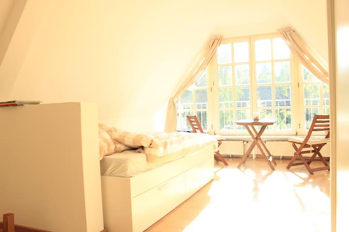 Gemütliche, helle 1 Zimmer Wohnung in Elbvororten - Hamburg - Apartment