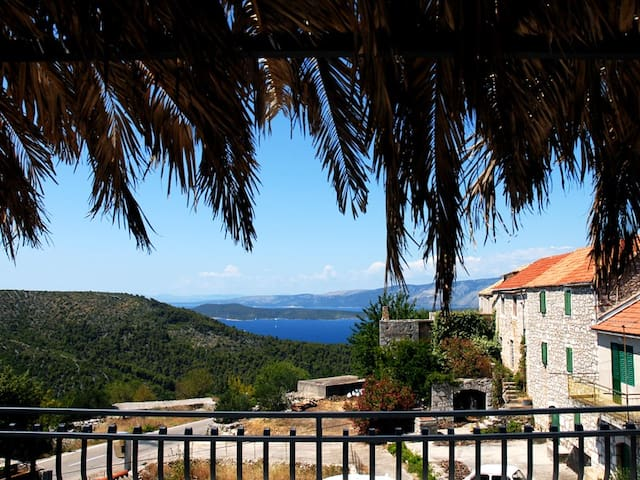 Hvar Stone House with Sea View 1