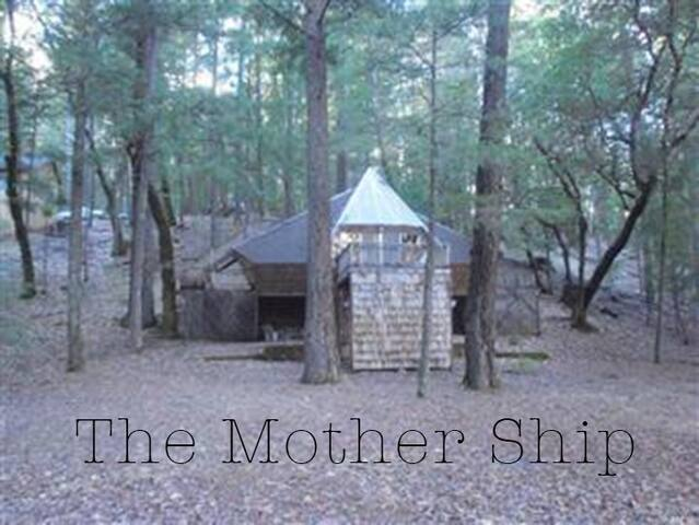 The Mother Ship Rustic Forest Cabin - Lake Pillsbury - Cabin