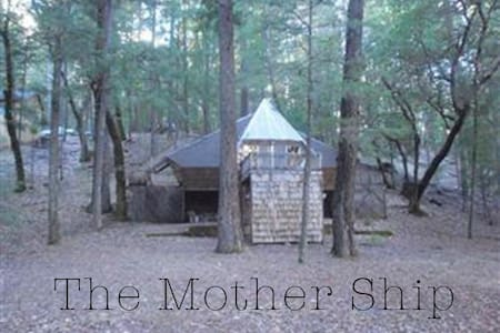 The Mother Ship Rustic Forest Cabin - Lake Pillsbury - Kabin