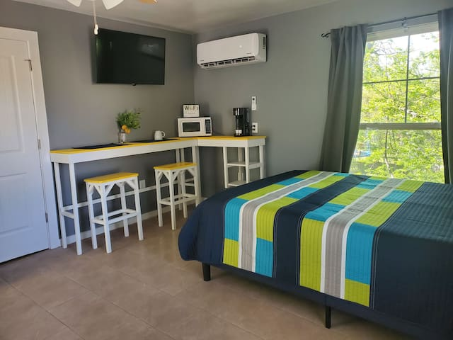 Yellow Diamond Room With Ample Parking!