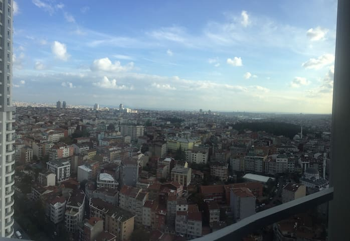 30th floor/Residence in Istanbul w panoranic view