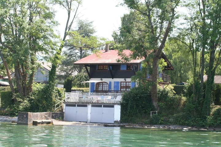 Charming lakeside holiday chalet - Anthy-sur-Léman - House