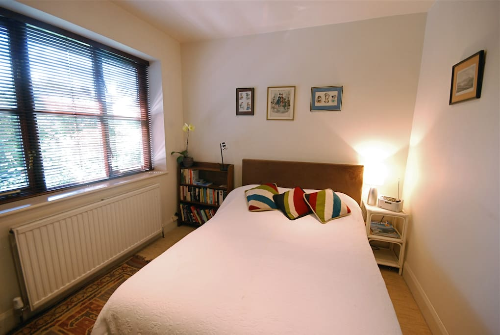Double ensuite room with separate entrance.