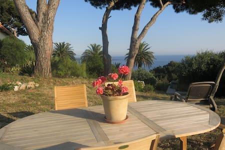 Giens appart et jardin vue mer 180° - Hyères